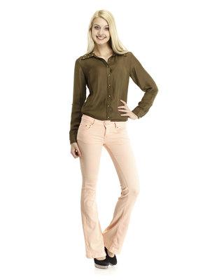 джинсы цв пудры размер б 96-100см