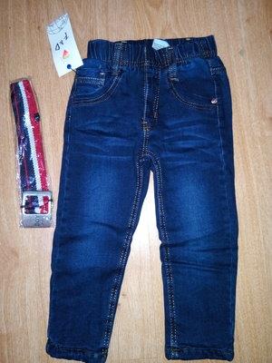 Утепленные джинсы на флисе, размер 104-134, Венгрия. Цена-350 грн.