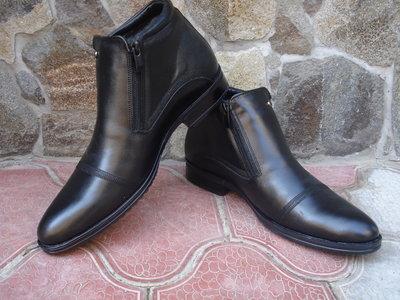 Продано: Ботинки мужские, зимние. А-24. натуральная кожа и цигейка