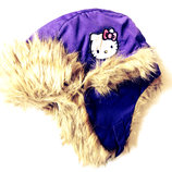 Зимняя термо шапка Hello Kitty 3-6 лет