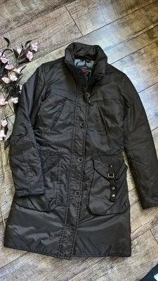 Коричневый пуховик,куртка,парка, пальто Cliver-S-M