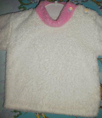 Теплый свитерок на девочку 6- 9 мес.