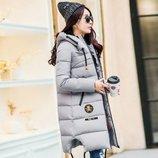 куртка женская Хит теплая пуховик зимняя дубленка парка пальто термо пуховая