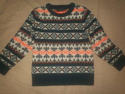 Классный теплый свитер Некст 5-6л