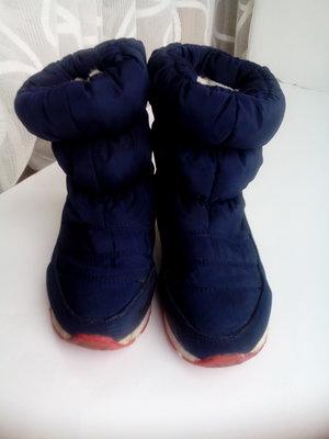 Зимние термо сапоги ботинки 18см по стельке