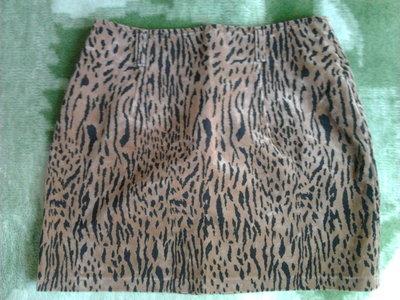 юбка леопардовая 46-48 р.