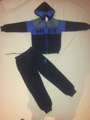 Теплый костюм Nike с начесом р.122-146