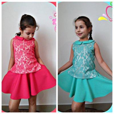 Костюм 626 юбка и блузка р. 116-134