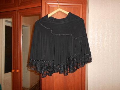 Черная нарядная юбка 48 р