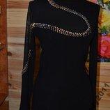 Платье Стразы Сеточка