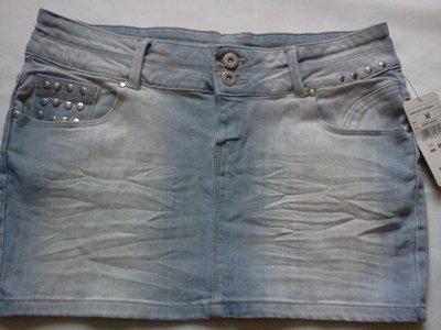 Новая джинсовая фирменная юбка М-Ка