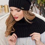 Комплект «Герда» шапка-колпак и шарф-снуд