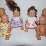 Цена за 6.Коллекционная кукла пупс пупсик Zapf Запф германия мини Анабель беби берн характерная зубы