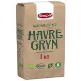 Органическая безглютеновая овсянка 1кг Semper Eko Havregryn, доставка под заказ со Швеции