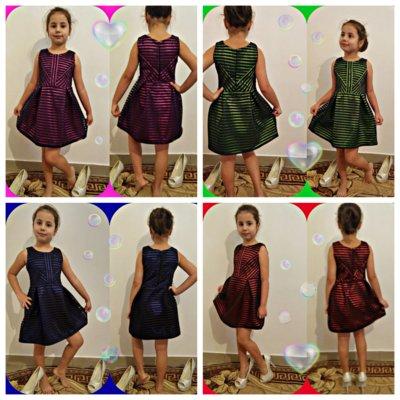 Платье 620 неопрен полоска р. 116-134