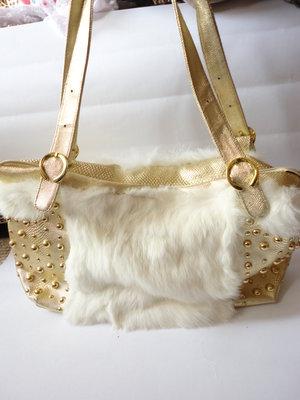 Шик Золотая сумка большая