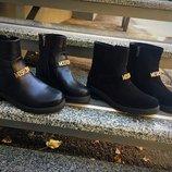 Ботинки натуральная кожа замш 36-40 р