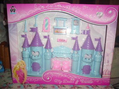 замок для куклы с мебелью в коробке укр 15 гр