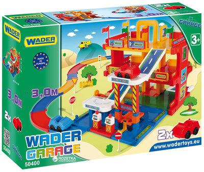 Гараж с дорогой Wader 50400
