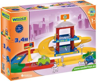 Детская парковка Гараж 2 уровня Wader 53020
