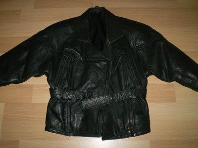 Стильная курточка из качественной натуральной кожи на 3-5 лет. Эксклюзив