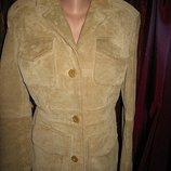 пиджак замша