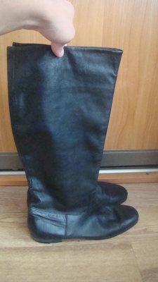 Nursace Итальянские демисезонные кожаные сапоги 36 размер