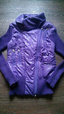Курточка комбинированная , размер XS