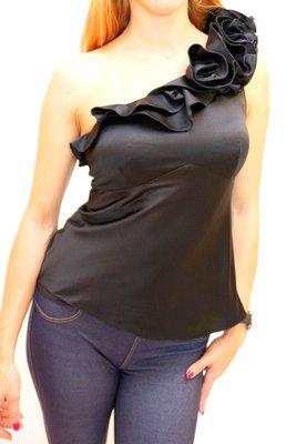 Блузка на одно плечо karen millen