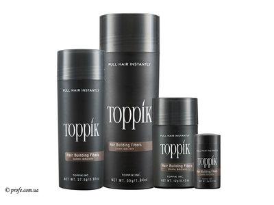 Камуфляж для волос Toppik 27,5 г маскировка залысин при выпадении волос