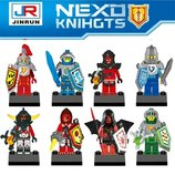 Министруктор герои Nexo Knights, рыцари Нексо Найтс. Все детали совместимы с