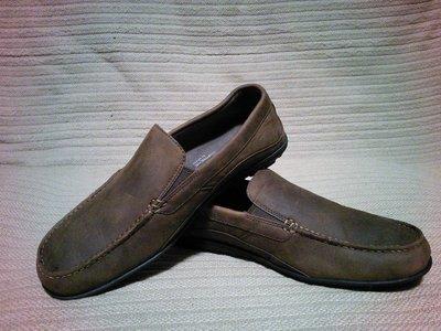 Лаконичные стильные кожаные фирменные мокасины Rockport adiPrene 40 р