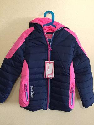 Очень стильная теплая демисезонная курточка