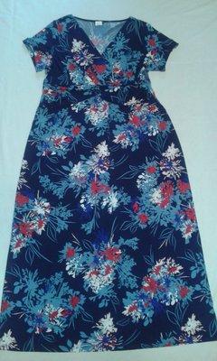 Нарядное женское платье длиной в пол р.XXL
