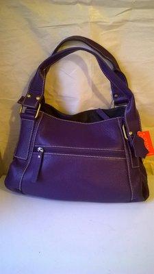 Кожаная сумочка Раоlo Truzzi, Италия, оригинал, суперцена королевский фиолетовый
