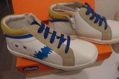 кожаные ботинки 33 размеры chicco