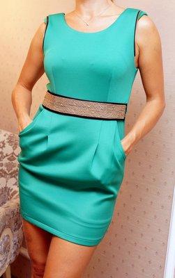 Изумрудное платье max mara оригинал
