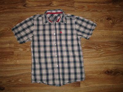 Хлопчатая рубашка Rebel на 10-11 лет 100% котон