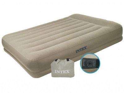 INTEX 67748 152Х203Х38 См. 220V. Надувная Двуспальная Кровать
