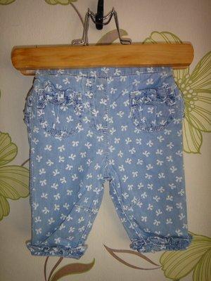 Голубые джинсы Tu 0-3 мес