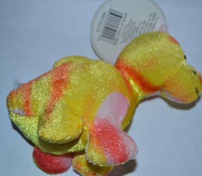 яркий фирменный динозаврик mini bright dinos hug fun высота 15 см оригинал новый