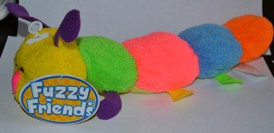 яркая фирменная гусеница fuzzy friends высота 33 см оригинал новая