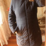 Пальто на синтепоне р.46-48.