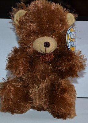 большой фирменный мишка fuzzy friends высота 25 см оригинал новый