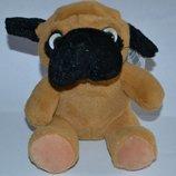 классная фирменная собака щенок plush animal высота 18 см оригинал новая
