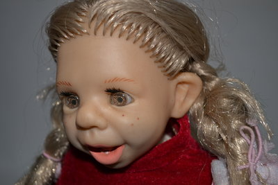 alina toys винтажная коллекционная характерная кукла зубки,днепр