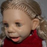 alina toys винтажная коллекционная характерная кукла зубки,днепр алина мимическая