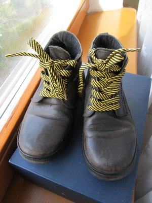 Ботинки 21см стелька кожа ремонт
