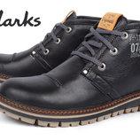 Мужские кожаные ботинки Clarks Urban Tribe 2 цвета