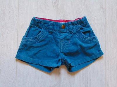 Яркие велюровые шорты для модницы. Mamas&Papas. Размер 3-6 месяцев. Состояние новой вещи